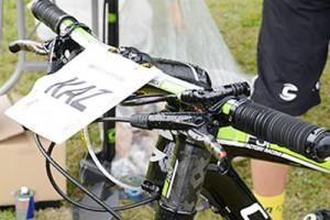 KAZUさんバイクのブレーキレバー角度