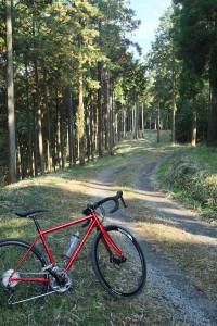 山の尾根のグラベルロード【KONA Roadhouse - size 49cm】